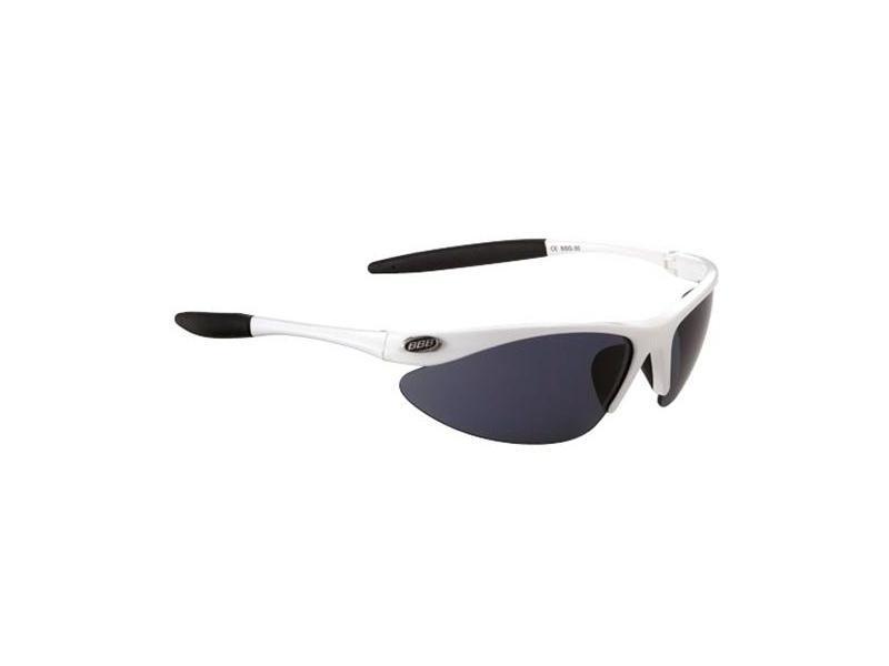 Brýle BBB BSG-30 Retro - bílé obr/kouřová skla-kód 3007