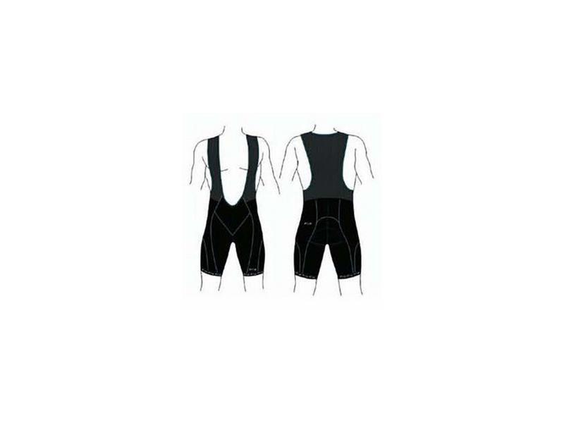 Krátké kalhoty s laclem BBB BBW-111 UltraTech Bib Shorts - velikost L