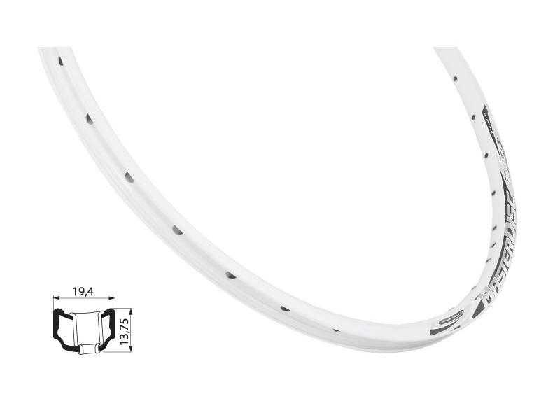 Ráfek Remerx MASTER Disc 559 x 18, 32 děr - bílý