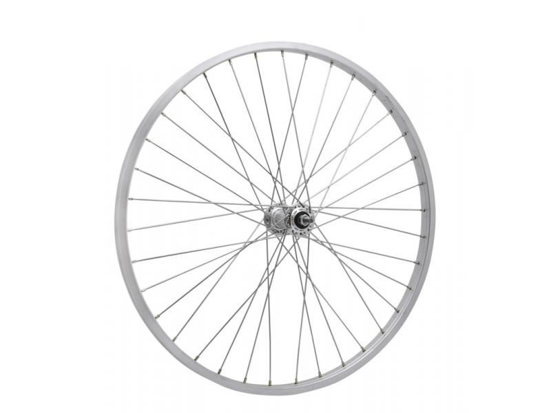 Zapletené kolo Remerx 559 x 19, ráfek REMERX + náboj ALU pevný, 36 děr, V-brzdy - zadní kolo