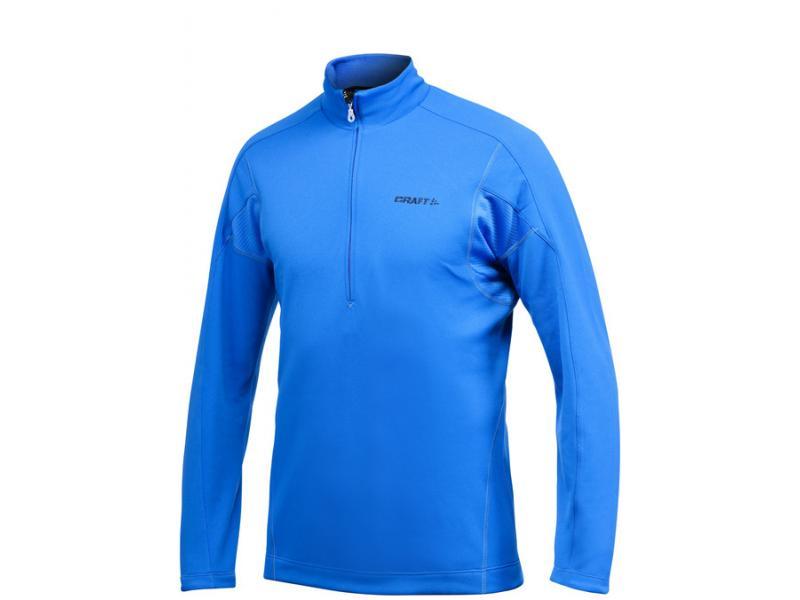 Pánský rolák se zipem Craft Bodymapped Half Zip Pullover 1900928-2336 modrý - velikost S
