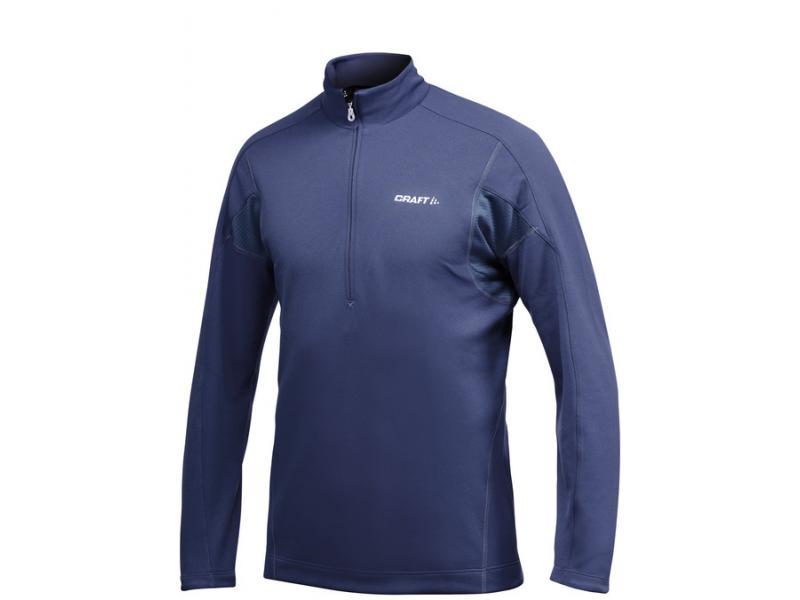 Pánský rolák se zipem Craft Bodymapped Half Zip Pullover 1900928-2284 tmavě modrý - velikost XXL