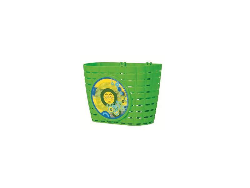 Přední koš na dětské kolo Sponge Bob - modrý