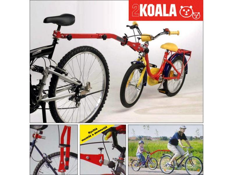 Vodící tažná tyč na dětské kolo KOALA 2