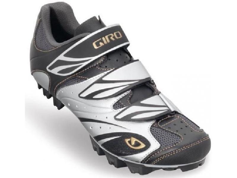 Giro Reva Women černá stříbrná zlatá - velikost 38