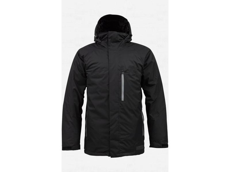 Pánská bunda na snowboard BURTON HOSTILE JACKET - True Black - 276406-409 - Velikost XL