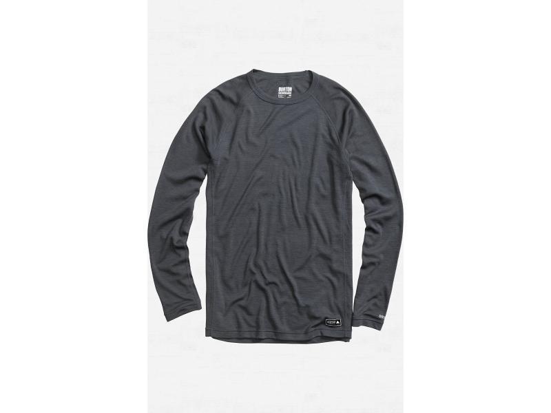 Pánské funkční triko BURTON WOOL CREW - Quarry - 275900-092 - Velikost XL