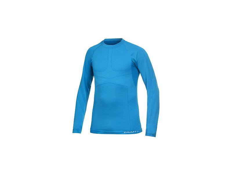 Pánské triko CRAFT KEEP WARM WOOL Circular Knit 1901648-2330, modré - velikost M