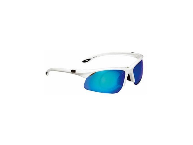 Brýle BBB POWERVIEW BSG-20 - průhledné stříbrné obr/modrá skla-kod 2046