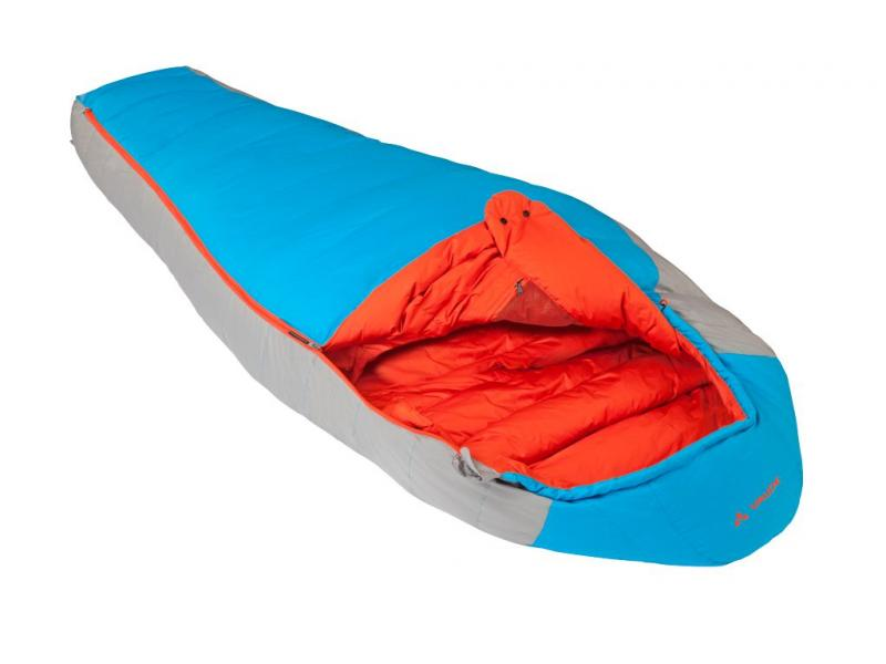 Péřový spacák VAUDE CHEYENNE Featherlight 350 - skyline 11369 312 - levý