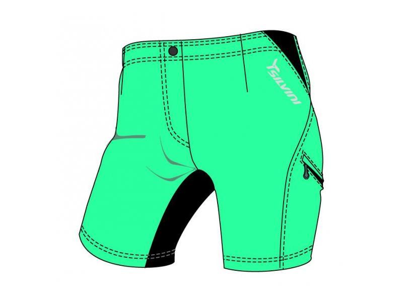 SILVINI dámské MTB cyklistické kalhoty INVIO WP379 bluegreen - Velikost XL