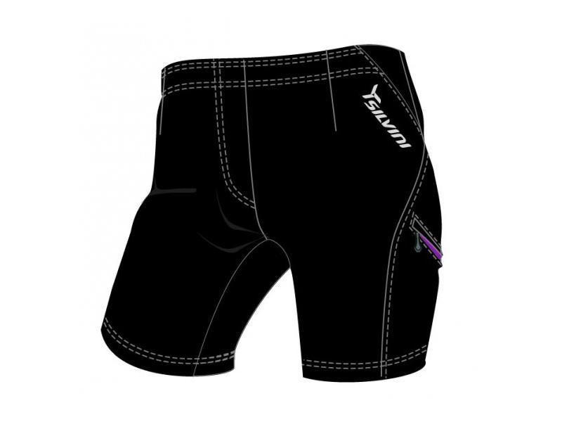 SILVINI dámské MTB cyklistické kalhoty INVIO WP379 black - Velikost L