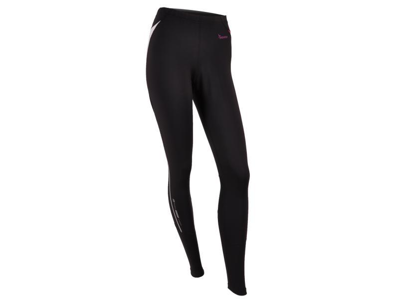 SILVINI dámské kalhoty dlouhé běžecké SAVUTO WP390 black - Velikost L