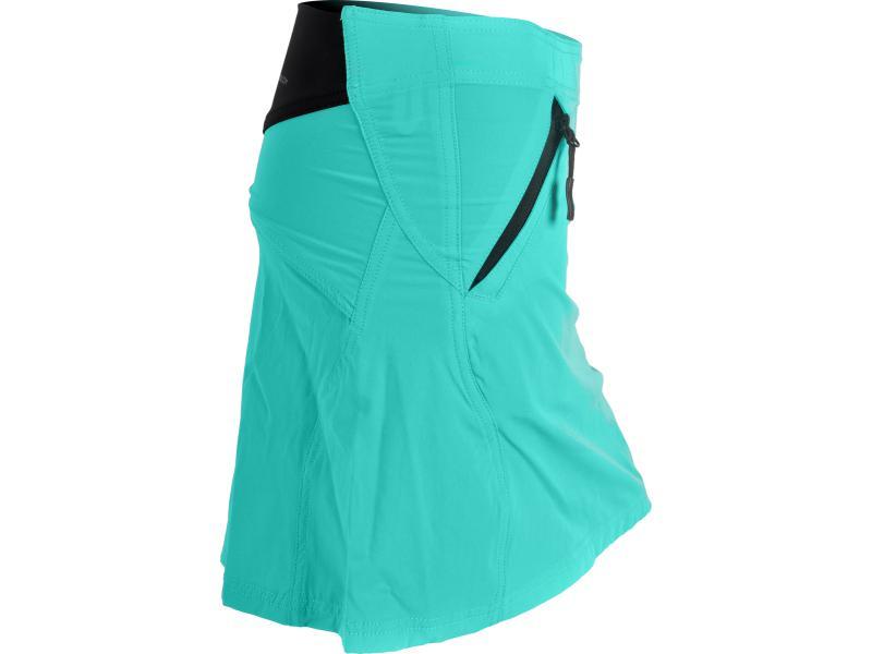 SILVINI dámská cyklistická sukně INVIO WS378 bluegreen - Velikost XS