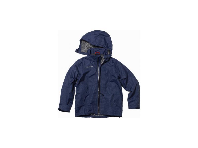 Dětská bunda DIDRIKSONS FLITE PRINT JR D1913 545093-703 tmavě modrá - velikost 130
