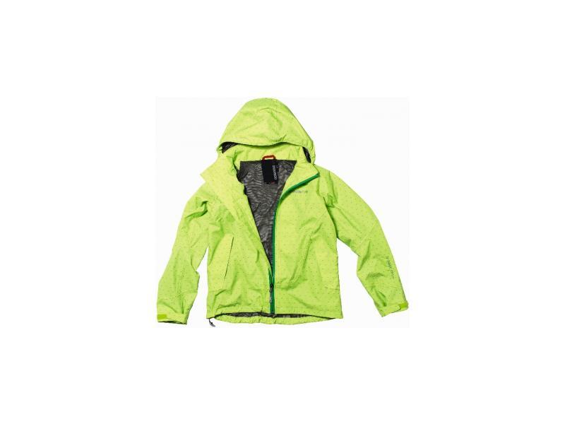 Dětská bunda DIDRIKSONS FLITE PRINT JR D1913 545094-624 zelená - velikost 140