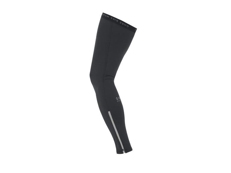 Návleky na nohy GORE Ozon Leg Warmers Black - velikost XL