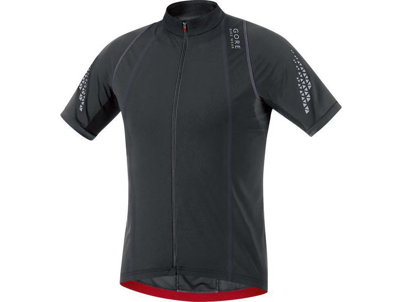 Pánský dres GORE Xenon 2.0 Jersey Black - Velikost L