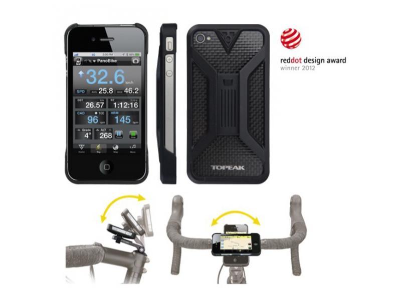 Topeak RideCase II obal a držák na iPhone 5 černá TT9833