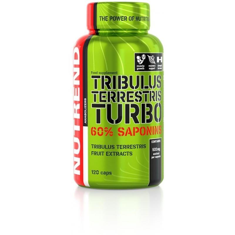 Tablety Nutrend TRIBULUS TERRESTRIS TURBO - 120 kapslí