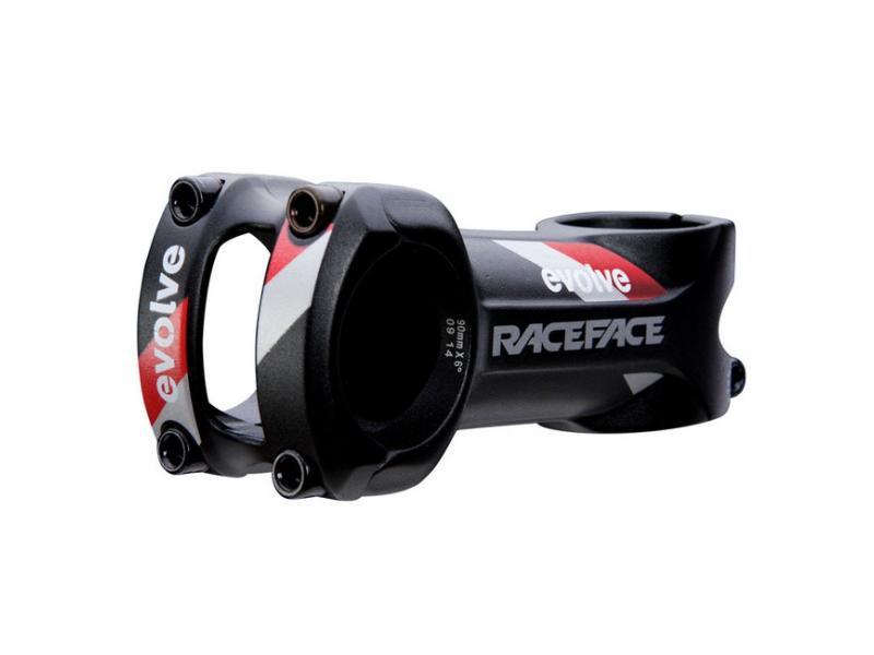 Představec RACE FACE EVOLVE XC 31,8 černá/červená - délka představce 100 mm