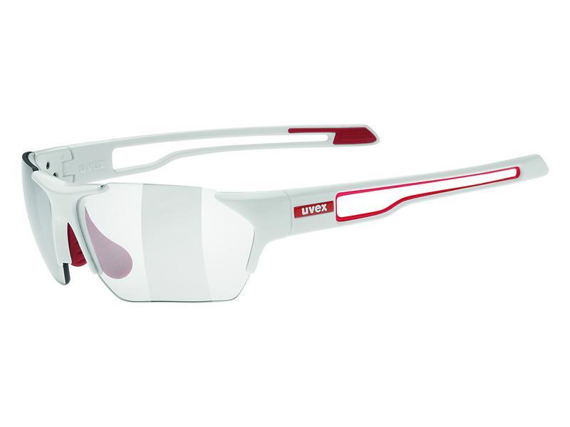 Brýle UVEX SPORTSTYLE 202 SMALL VARIO WHITE RED/SMOKE (8301) 2014