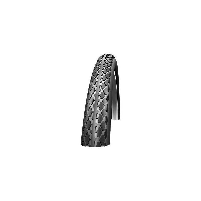 Plášť Schwalbe HS159 27 x 1 1/4 (28/32-630) - drát, černo-bílý 11157063.01