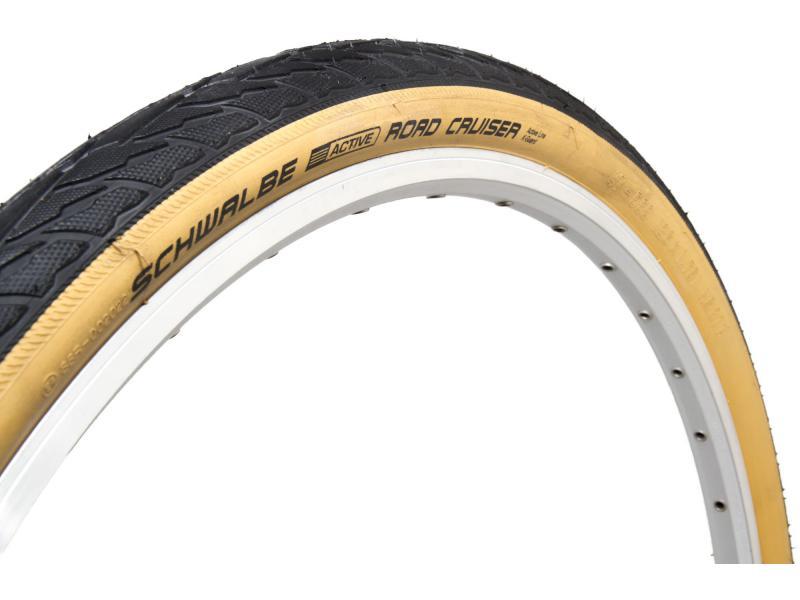 Plášť Schwalbe Road Cruiser 28x1.75 (47-622) HS377 KevlarGuard, drát, zlatožluté boky