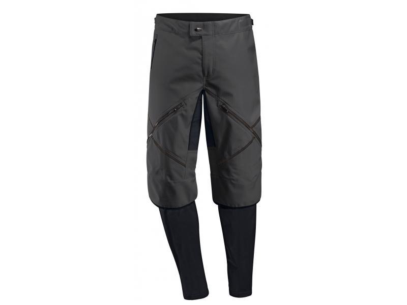 Pánské kalhoty Vaude Virt Softshell 5723010 black - velikost L