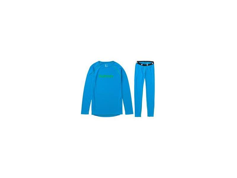 Klučičí set funkčního prádla BURTON 1ST LAYER SET 10280100-409 - BLUE-RAY - Velikost L (14-16)