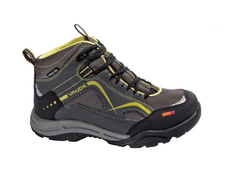 Dětské boty Vaude KIDS ROMPER CEPLEX MID 20320002 - grey - velikost 31