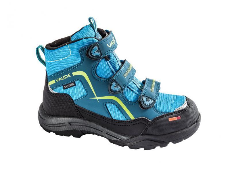 Dětské boty Vaude KIDS COBBER CEPLEX MID 20335335 - deep water - velikost 34
