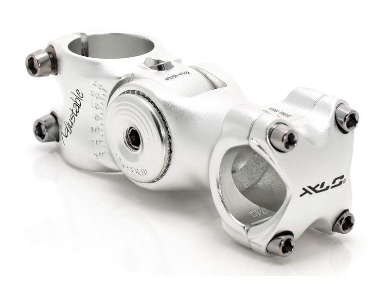 Představec XLC ST-M02 Alu - stříbrná 128/25,4mm