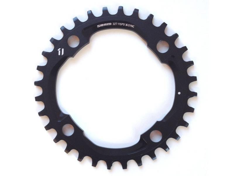 Převodník SRAM X01 X-Sync - 34z, 104 BCD, černý (11s)