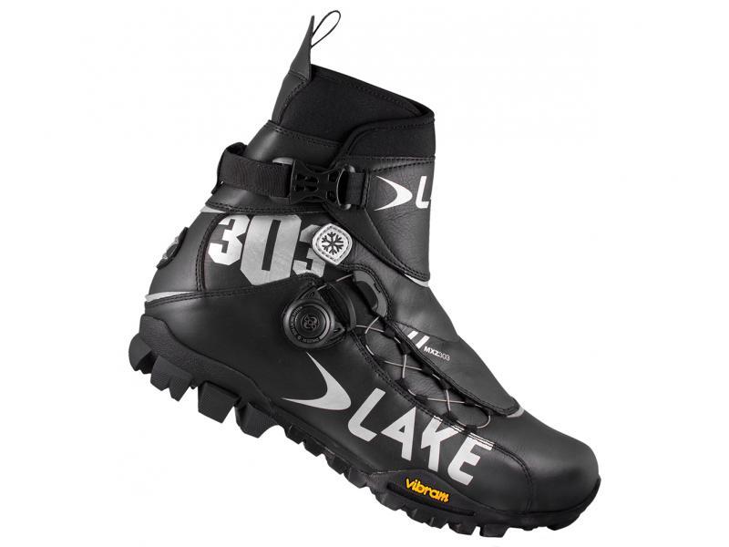 Zimní tretry LAKE MXZ 303, BLACK/SILVER - velikost 41