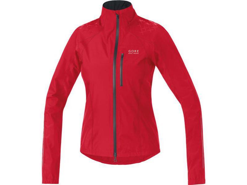 Dámská bunda GORE Alp-X 2.0 GT AS Lady Jacket Rich Red / Black - velikost 36 (S)
