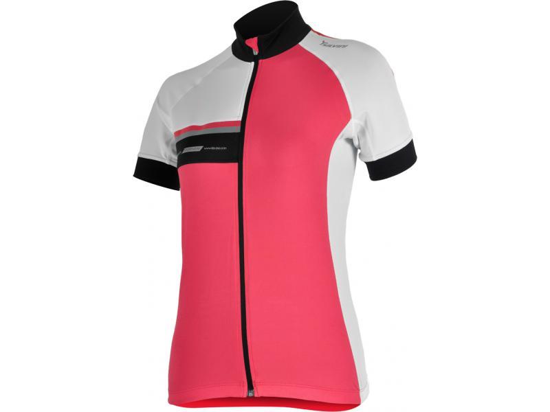 SILVINI dámský cyklistický dres CUPETTI WD456 rose - Velikost L