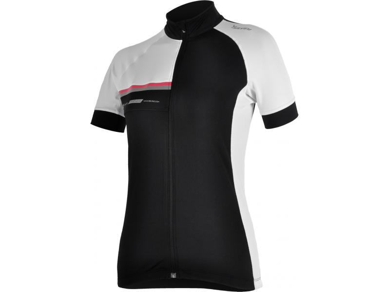 SILVINI dámský cyklistický dres CUPETTI WD456 black - Velikost L