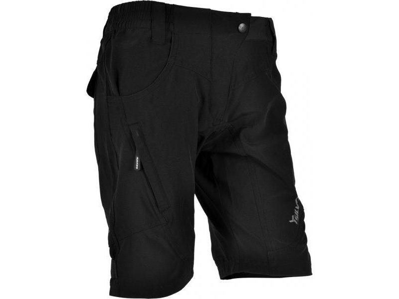 SILVINI dámské volné cyklistické kalhoty FASCA WP476 black - Velikost XL