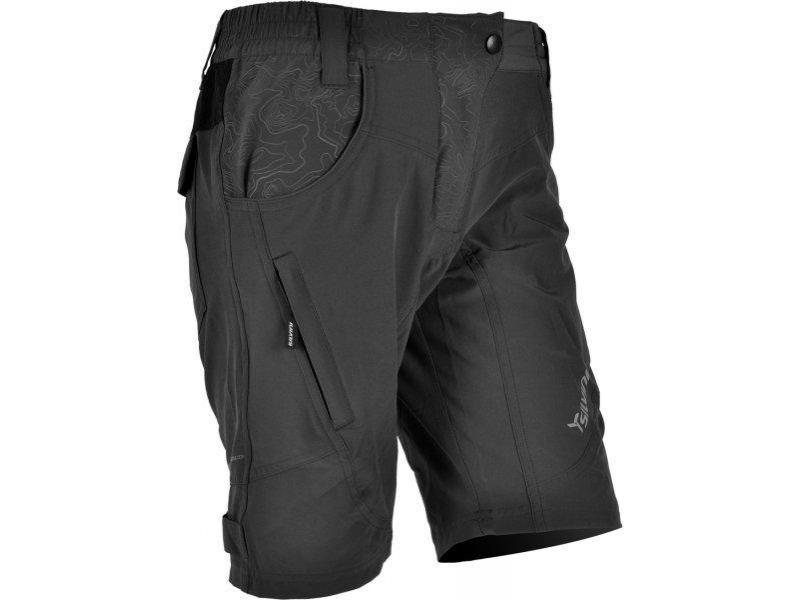 SILVINI dámské volné cyklistické kalhoty FASCA WP476 grey - Velikost M