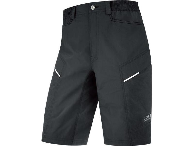 Pánské cyklokraťasy GORE Countdown 2.0 Shorts+ Black - velikost XXL