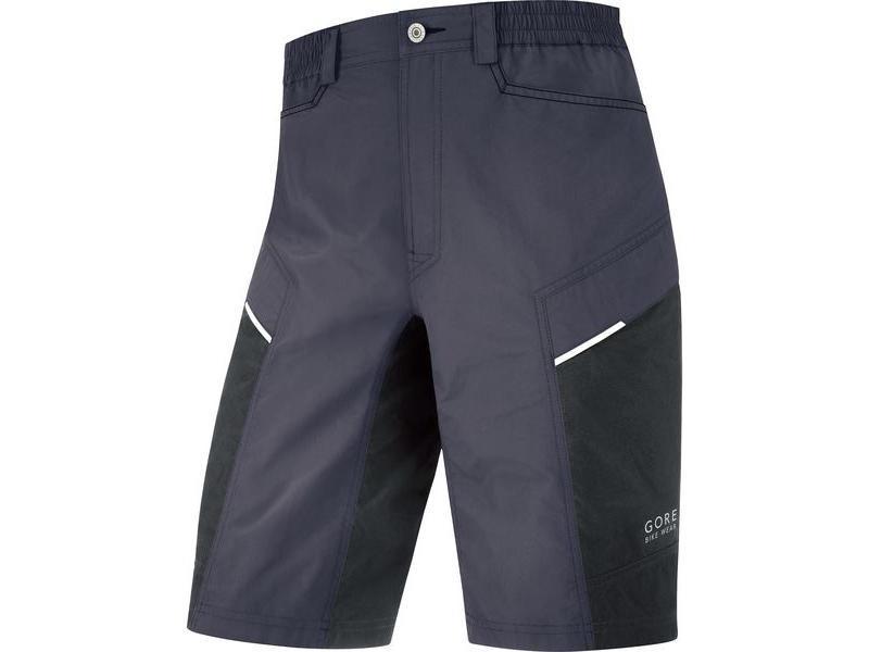 Pánské cyklokraťasy GORE Countdown 2.0 Shorts+ Graphite Grey / Black - velikost L