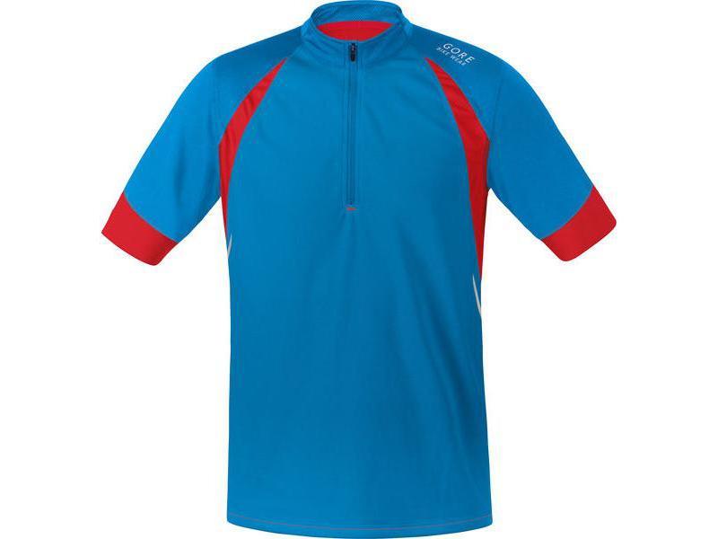 Pánský dres GORE Fusion 2.0 Jersey Splash Blue / Waterfall Blue - velikost M