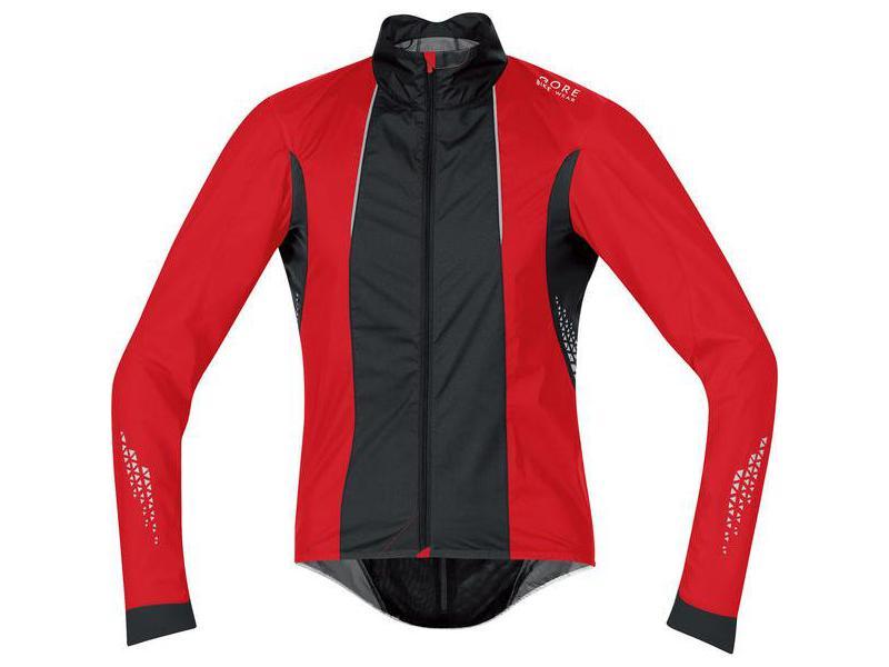 Pánská cyklistická bunda GORE Xenon 2.0 AS Jacket Red / Black - velikost L