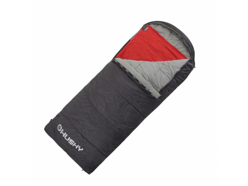 Spacák dekový Husky Guty -10°C - černá/červená