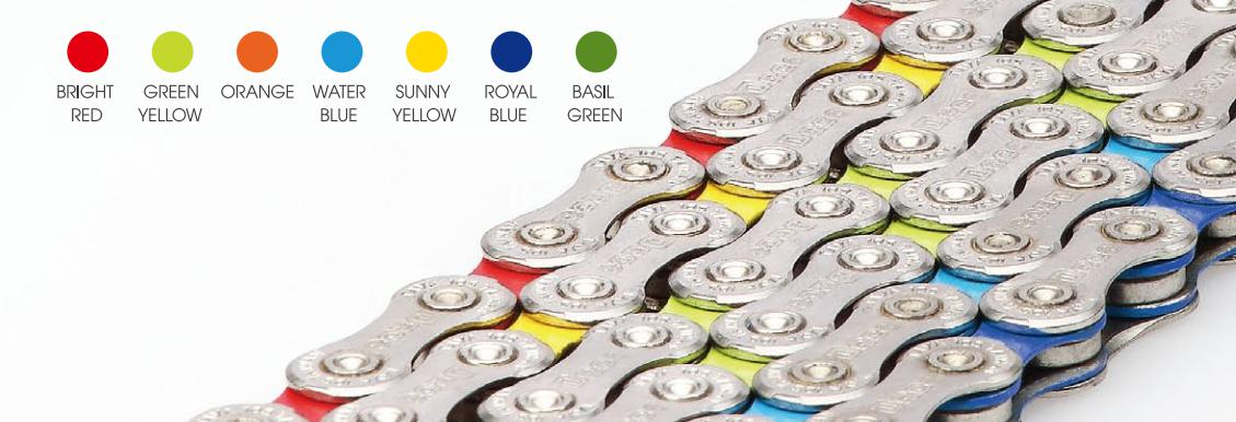 Řetěz Taya DECA-101-UL-S-CS-WB stříbrno-světle modrá (10s)