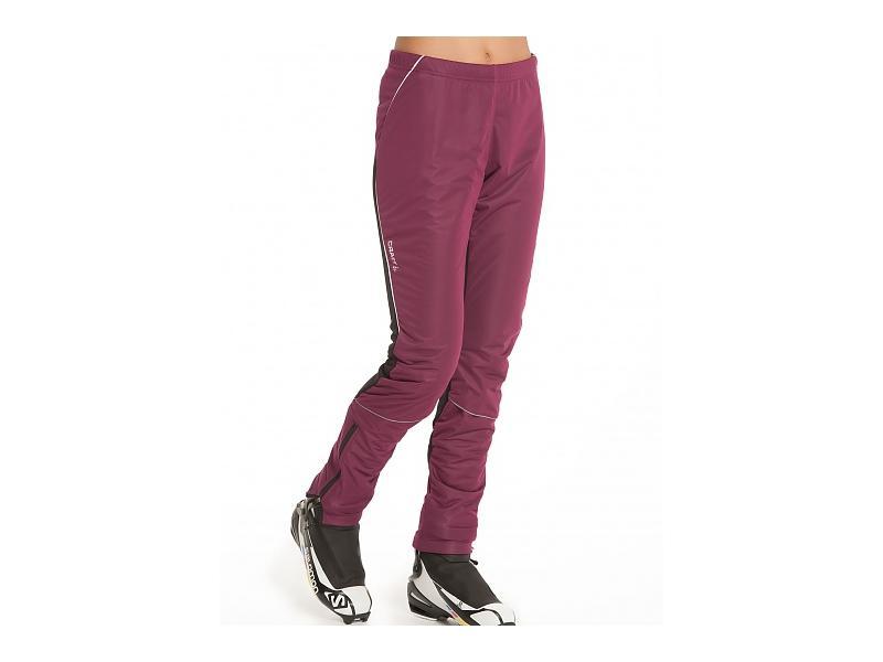 Dámské kalhoty na běžky Craft PERFORMANCE XC STORM 193363-2465 fialové - velikost S
