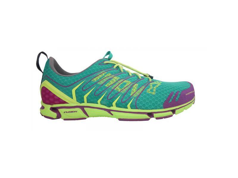 Inov-8 Tri-X-Treme 275 UK 6 dámská běžecká obuv atlantis/lime/purple - velikost 6 UK