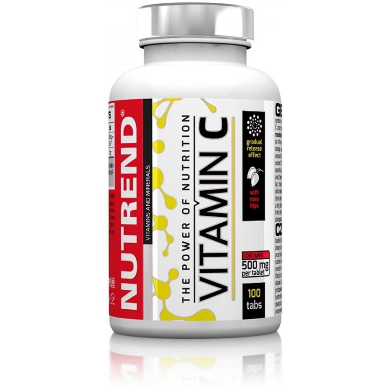 Tablety Nutrend Vitamín C se šípky - 100 tablet