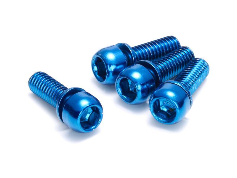 Šrouby Reverse M6x18mm Blue - 4ks, brzdový třmen 01808